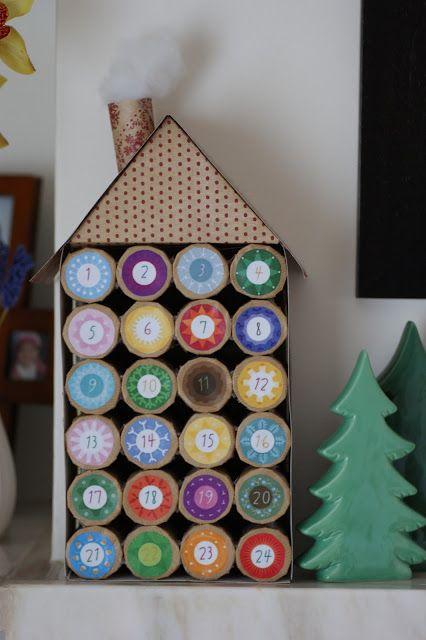 Csináld magad adventi kalendárium ötletek