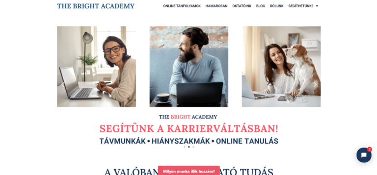 the bright academy