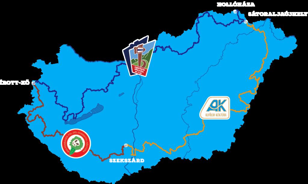 66 nap Magyarország körül – Szűcs Attila és a kéktúra kaland